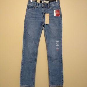 "Levis ""525"" straight leg jeans size 6/28 nwt"